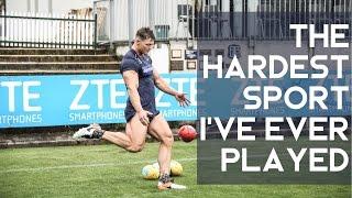 Video The Hardest Sport I've Ever Played | Australian Rules Football download MP3, 3GP, MP4, WEBM, AVI, FLV Oktober 2017