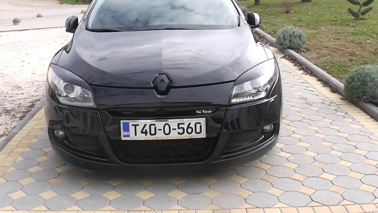 renault megane 3 coupe gt line tuning black youtube. Black Bedroom Furniture Sets. Home Design Ideas