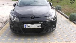 Renault megane 3 coupe gt line, tuning black