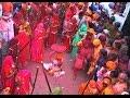 Barsana Celebrates Traditional 'lathmar Holi' video