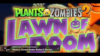 Plant VS Zombies (garden of doom)