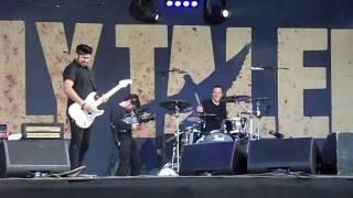 billy talent rock en seine 2009 devil on my shoulder HD