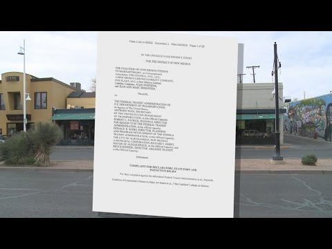 2nd lawsuit filed against City of Albuquerque over ART project