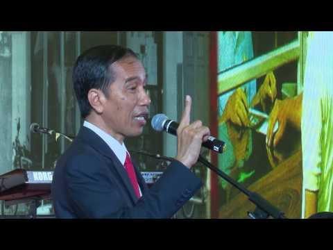Presiden Jokowi bertemu Masyarakat Indonesia di Shanghai, RRT