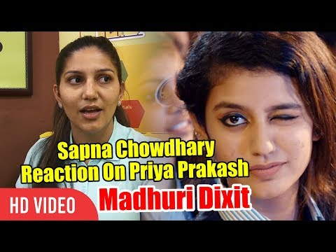 Sapna Choudhary Reaction On Priya Prakash Varrier | Oru Adaar Love