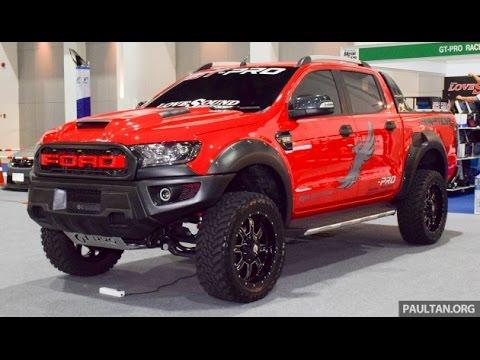 Ford Ranger แต่งยกสูง Youtube