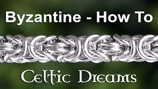 Video How To Make Byzantine Chain Mail Bracelet or Necklace - Best Tutorial in 1080 HD Macro download MP3, 3GP, MP4, WEBM, AVI, FLV Oktober 2018
