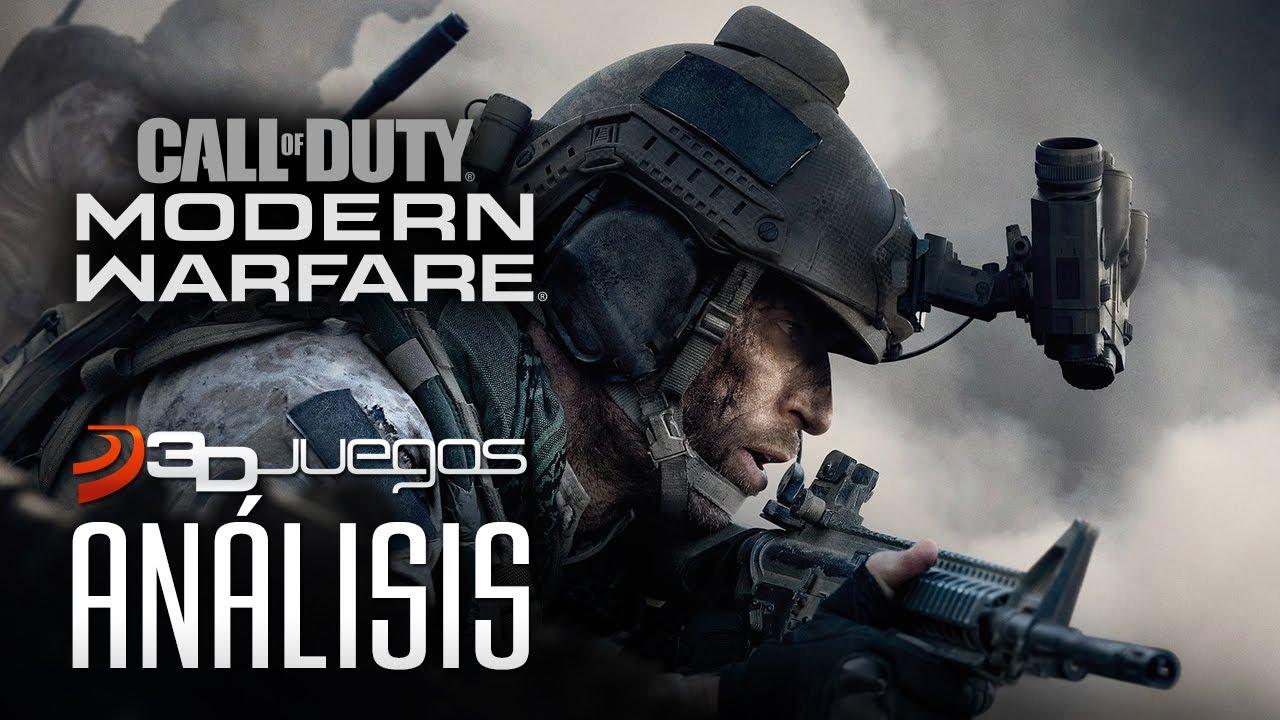 Call of Duty: Modern Warfare Análisis en 4K. Así es el resurgir de COD
