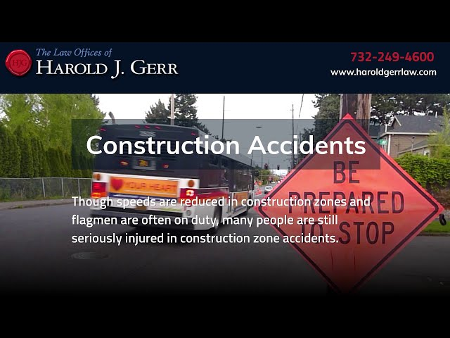 Construction Accident Lawyers | The Law Offices of Harold J. Gerr