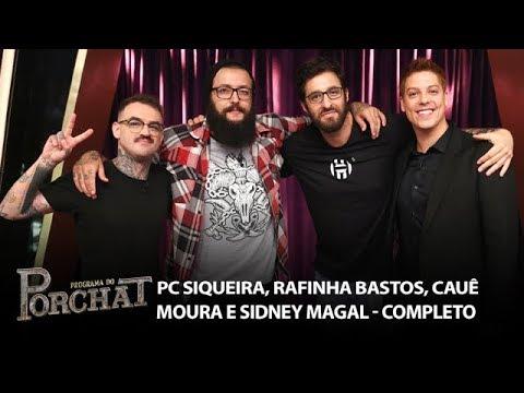Programa do Porchat (completo) | PC Siqueira, Rafinha Bastos, Cauê Moura e Sidney Magal (22/03/2018)