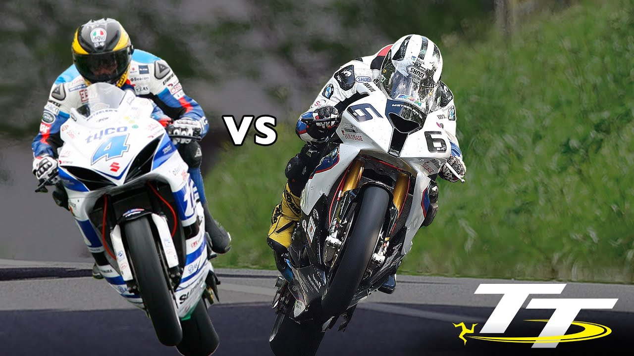 GUY MARTIN vs MICHAEL DUNLOP Isle of Man TT RACES