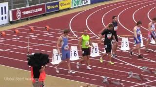 Pous Richard - Zlata tretra 2010 Ostrava - 2, 100m Men national