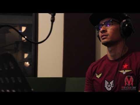 Nazrief Nazri Single 'Kisah Cinta' Recording Session