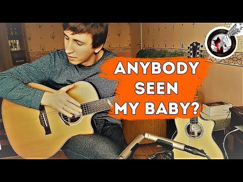 Anybody seen my baby | Guitar cover by Alex Mercy