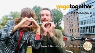 Yoga Together Testimonial - Koen and Natasha | The Netherlands