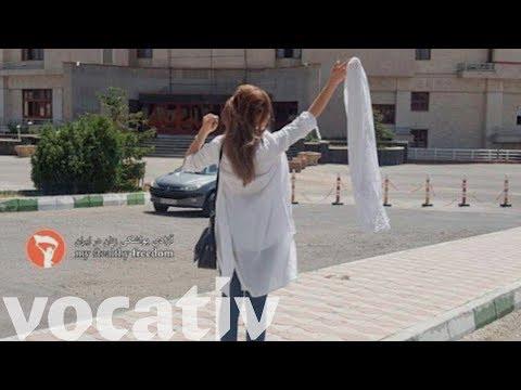 #WhiteWednesdays: Iranians Wear White To Protest Strict Dress Code