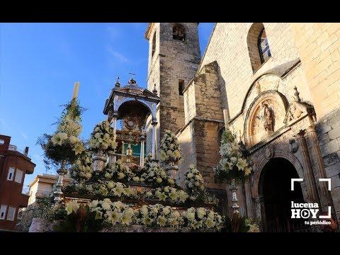VÍDEO: La procesión del Corpus Christi en Lucena. Aquí tienes nuestro reportaje en vídeo.