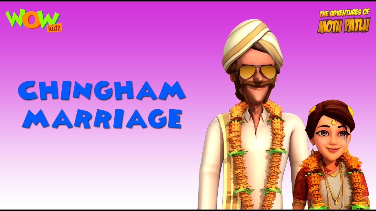 Motu Patlu Vacation Special Chingam Marriage As Seen On