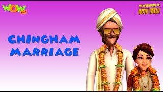Motu Patlu Vacation Special - Chingam Marriage - As seen on Nickelodeon