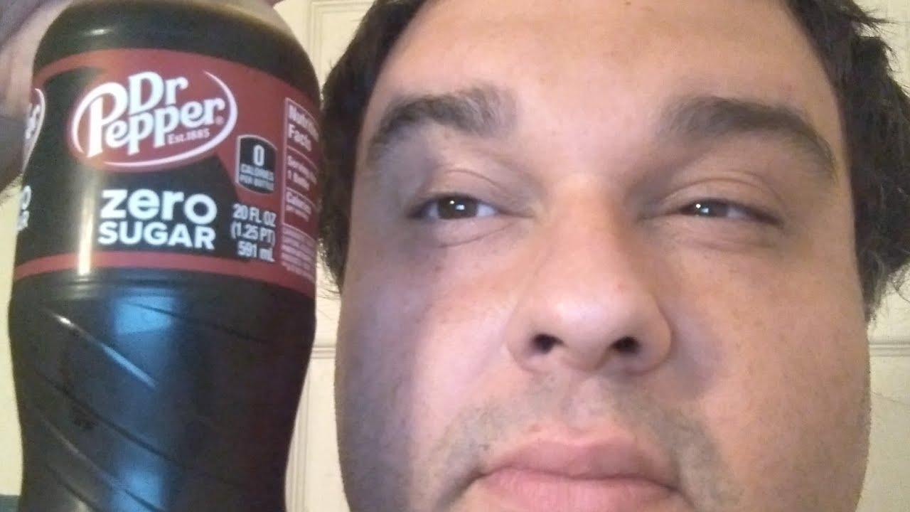 Download Dr. Pepper Zero Sugar Pop Soda Review Taste Test