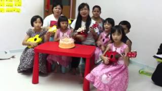 Happy Birthday to Inception of Ukulele Association in Malaysia (2013)