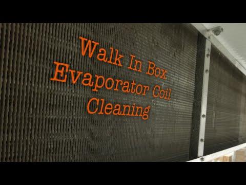 HVAC - Evaporator Cleaning in a Walk-In Cooler