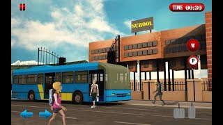 High school bus games 2018 winter school trip Urban Play Games Simulation Android Gameplay