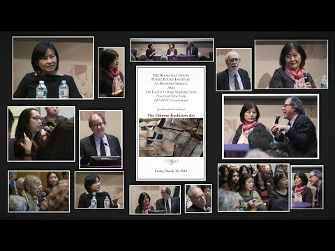 The Chinese Exclusion Act - Film Screening and Discussion Panel