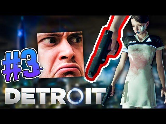 MÍŠA HRAJE! A JE BITA! Detroit: Become Human CZ s Míšou #3