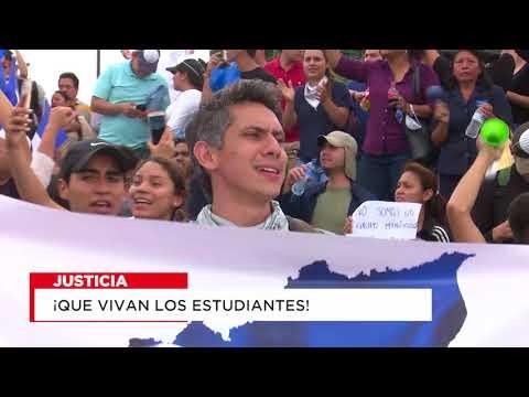 Que Vivan los estudiantes de Nicaragua - No a la Censura