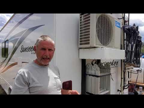 001 - Solar Mini Split Air Conditioner Runs 24/7/365 Day & Night