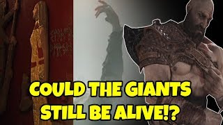 God of War Theory- Are the GIANTS still ALIVE!? Faye, Thor, Giants! Fan theories!
