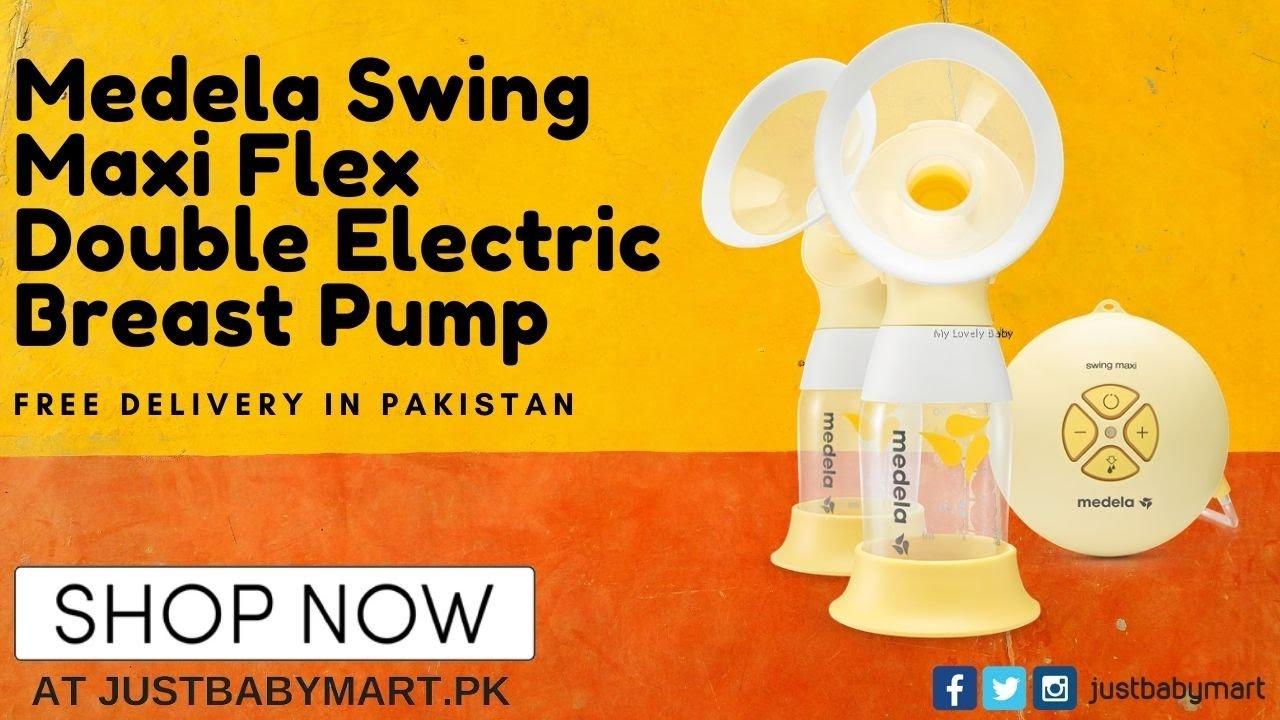 Medela Swing Maxi Flex Double Electric Breast Pump Youtube