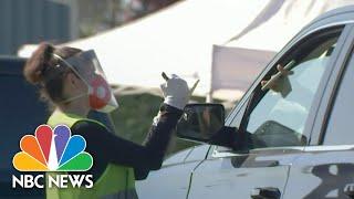 California Expanding Testing As U.S. Covid Cases Rise | NBC Nightly News