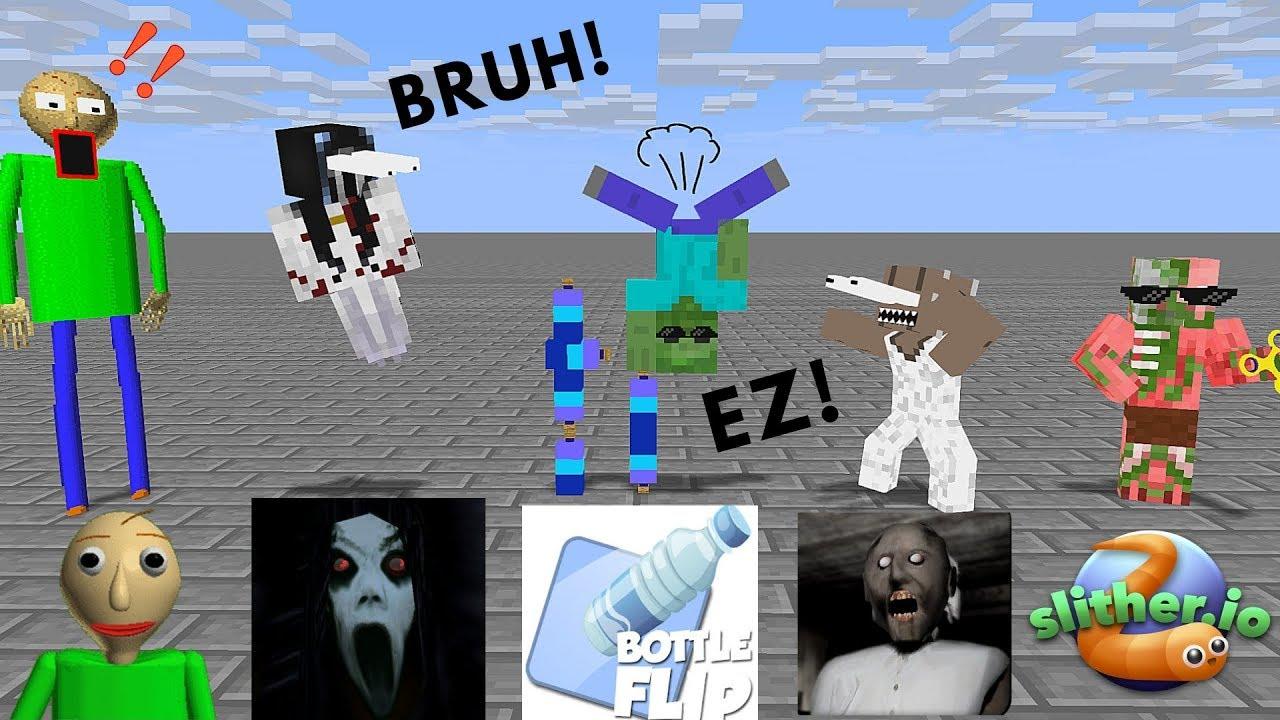 Monster School: SEASON 2 ALL EPISODES - Minecraft Animation