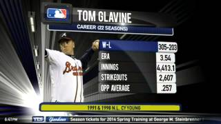 Yankees Hot Stove: An interview with Tom Glavine