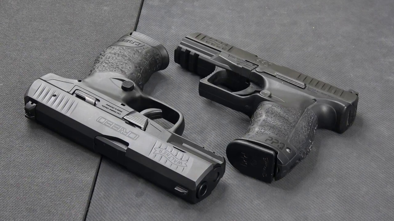 Walther Ppq Vs Walther Creed Youtube