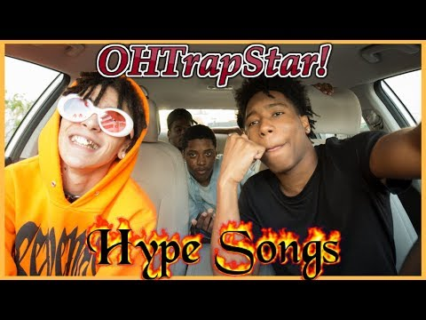 AUX BATTLES: HYPE SONGS W/ OHTrapStar (Lil Pump's Cousin)