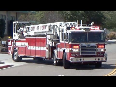 Poway E3713 + T3773 Responding