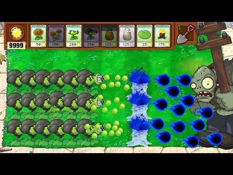 PLANTS VS ZOMBIES | INFINITE SUN NO COOLDOWN HACK (HACKED PVZ)