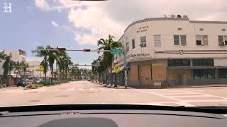 Timelapse: Entering Miami Beach a day after Hurricane Irma
