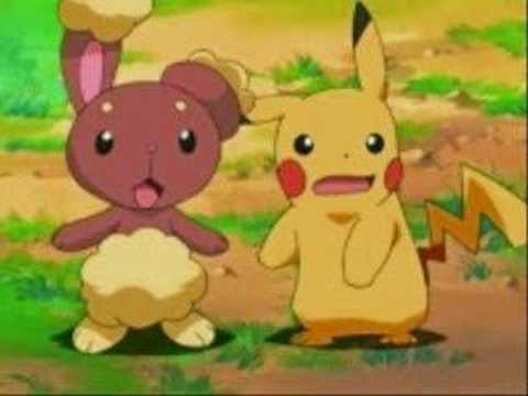 Pikachu ♥ Buneary - YouTube