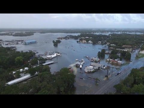 Hurricane Hermine hits the Sunshine State