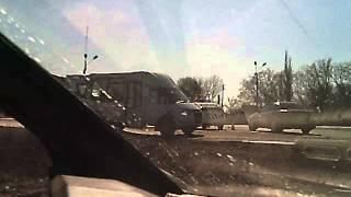 Решетиловка. ГАИ бездействует. Первая часть.(Возле патрульной машины остановился автомобиль с номерами частного авто на белом фоне . остановка было..., 2014-03-22T20:54:22.000Z)