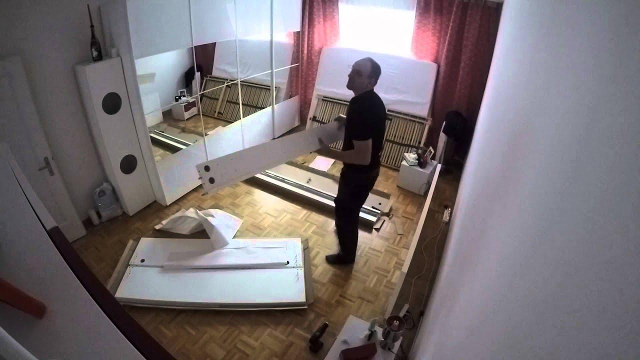 IKEA MALM Ein Bett entsteht! - YouTube