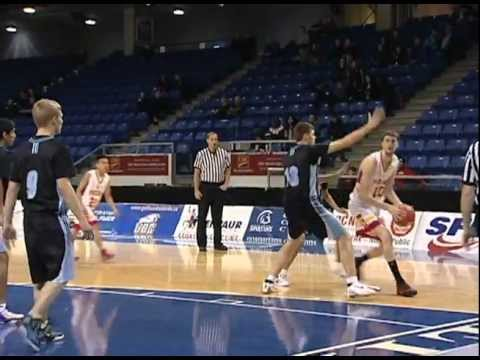 Boys High School AAA Basketball at the Langley Events Centre