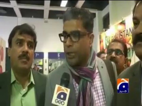 GEO News report on Sindh Fruit Traders at fruits exhibition 'Fruitlogistica Berlin 2016'