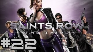 Let's Play Saints Row: The Third #22 German (Blind) [Hubschrauberangriff & Telefonfreak]