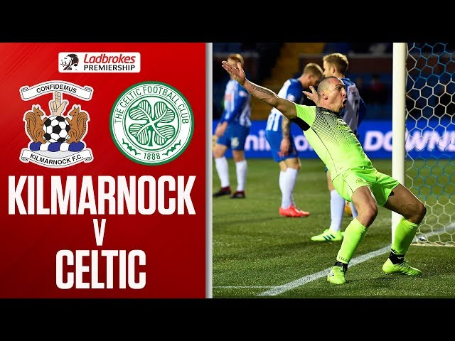 Kilmarnock 0-1 Celtic | Scott Brown Sees Red After Scoring Winner! | Ladbrokes Premiership