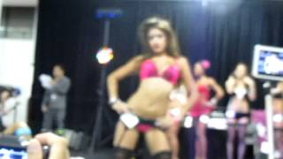 lannie in lingerie contest